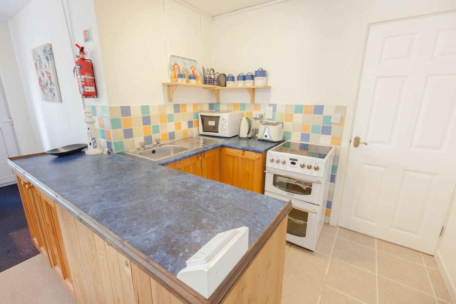 Westmount Haven Holiday Home - Granny Annexe Kitchen